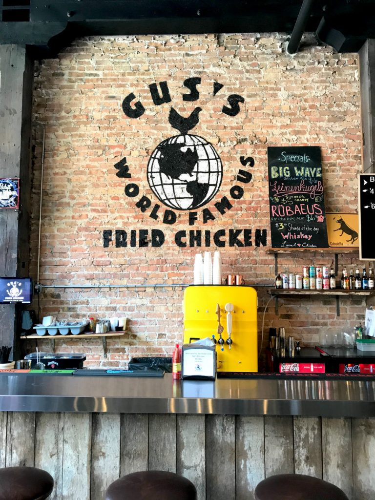 Where to eat in West Randolph Street, Fulton Market District, Chicago - Gus's world famous fried chicken logo