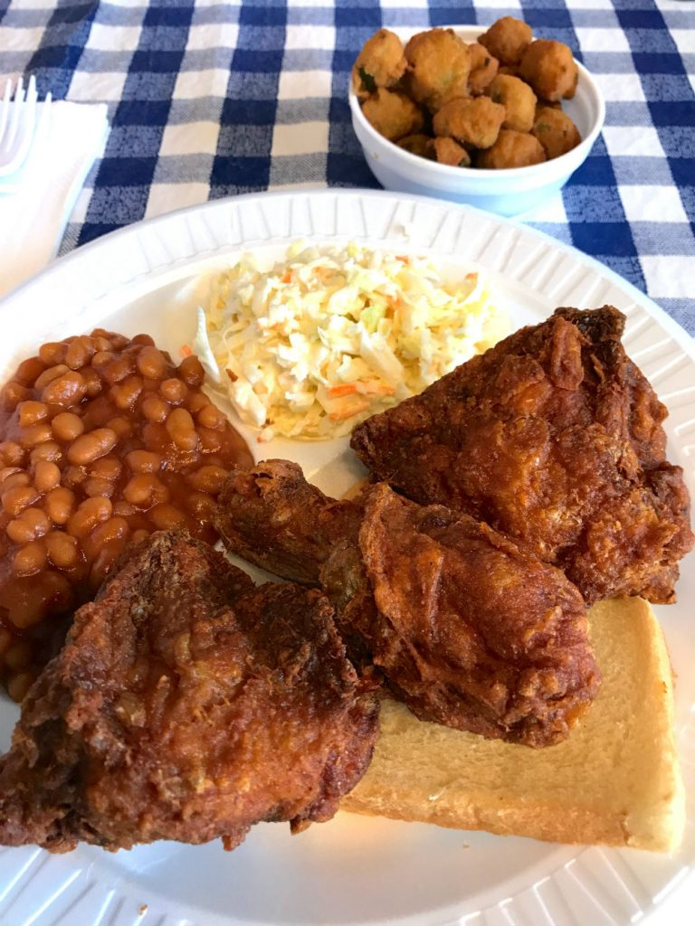 Where to eat in West Randolph Street, Fulton Market District, Chicago - Gus's world famous fried chicken