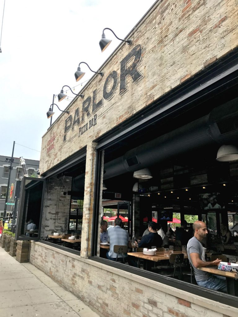Where to eat in West Randolph Street, Fulton Market District, Chicago - Parlor Pizza
