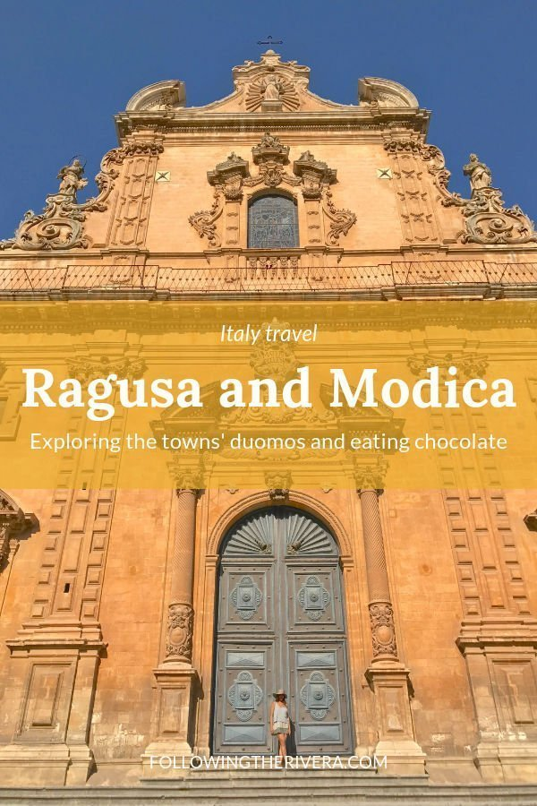 What to see in Ragusa and Modica — duomos and chocolate 3
