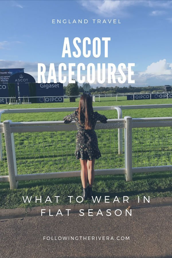 What to expect when visiting Ascot Racecourse during Flat Season 3