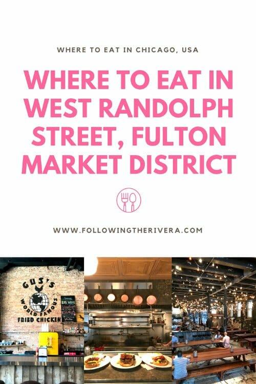 Where to eat in West Randolph Street Fulton Street Market
