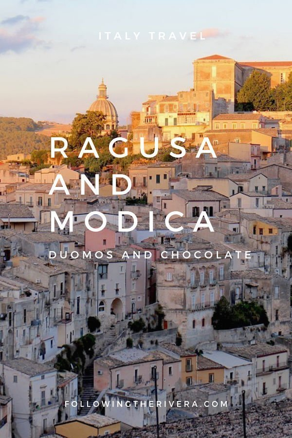 What to see in Ragusa and Modica — duomos and chocolate 1