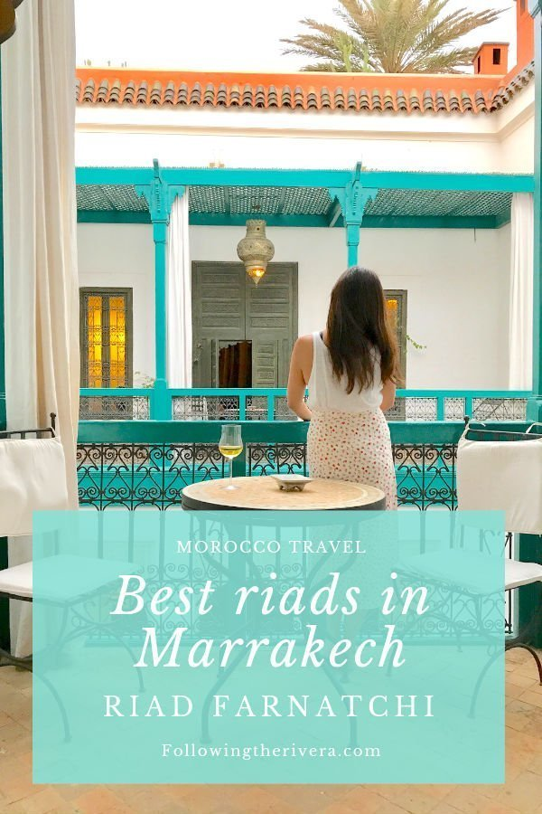 Best riads in Marrakech — Riad Farnatchi 3