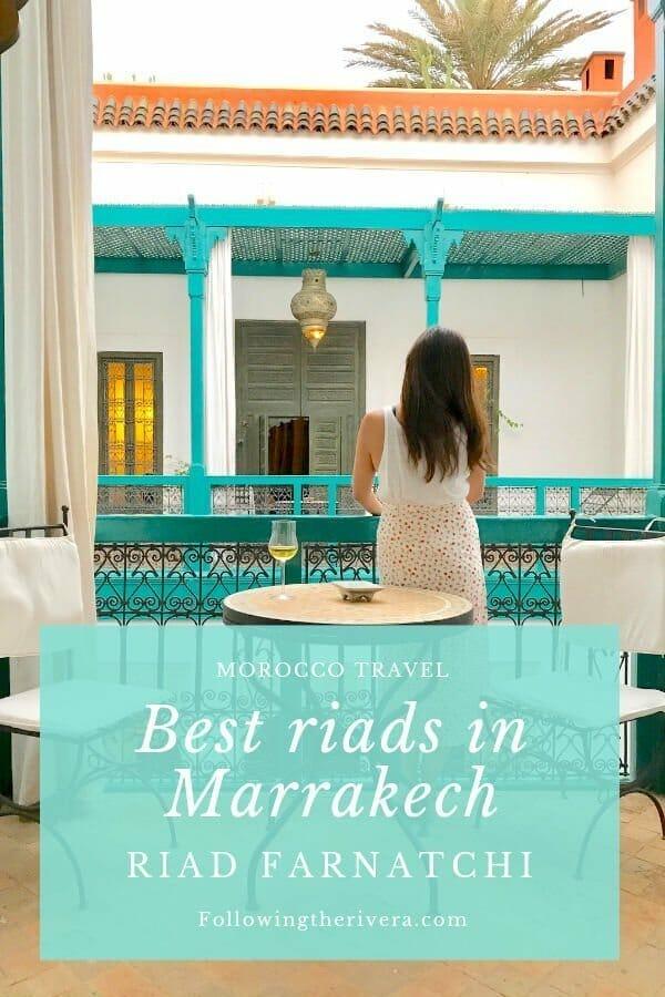Best riads in Marrakech — Riad Farnatchi 3