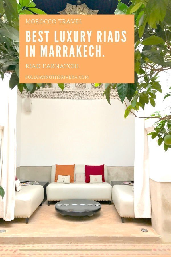 Best riads in Marrakech — Riad Farnatchi 4