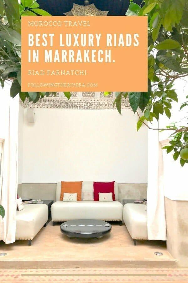 Best riads in Marrakech — Riad Farnatchi 4