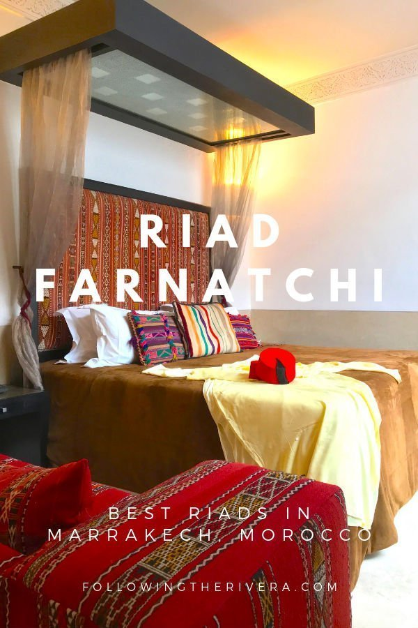 Best riads in Marrakech — Riad Farnatchi 2