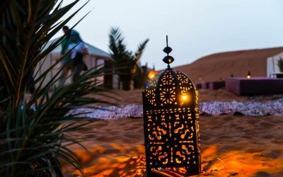 A magical night in Merzouga: Sleeping beneath the stars at Caravanserai luxury desert camp
