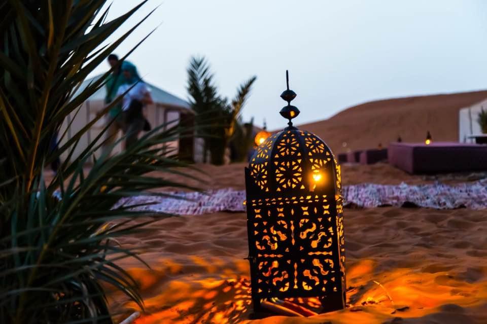 Caravanserai luxury desert camp — 1 night in Merzouga