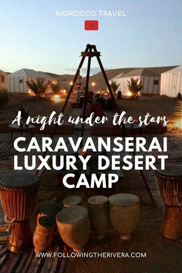 Caravanserai luxury desert camp — 1 night in Merzouga 3