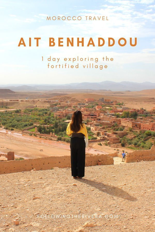 Aït Benhaddou — 1 day in the fortified village 3