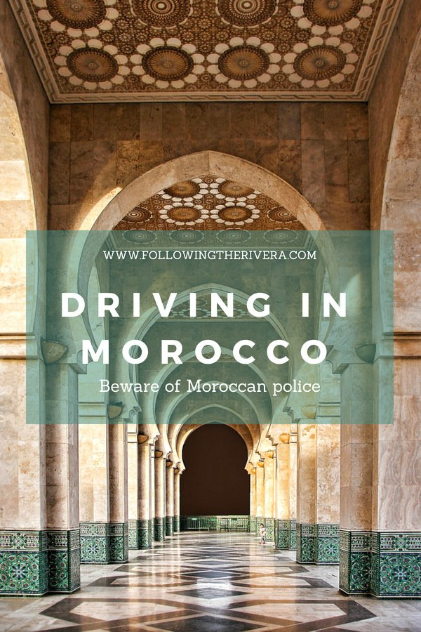 Driving in Morocco: beware Moroccan police 2