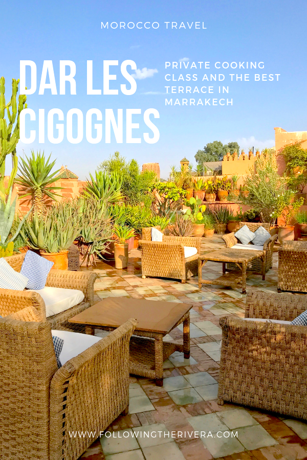 Dar Les Cigognes — the best cooking class in Marrakech 4