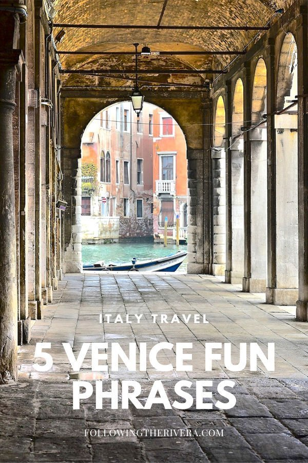 5 Venice useful phrases to use on your travels! 4