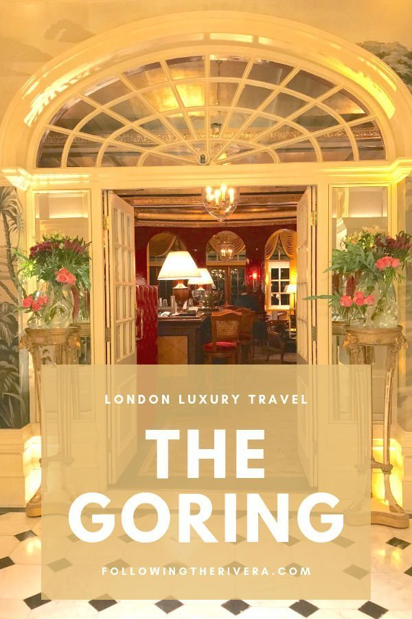 A night of fine dining at The Goring Dining Room 4