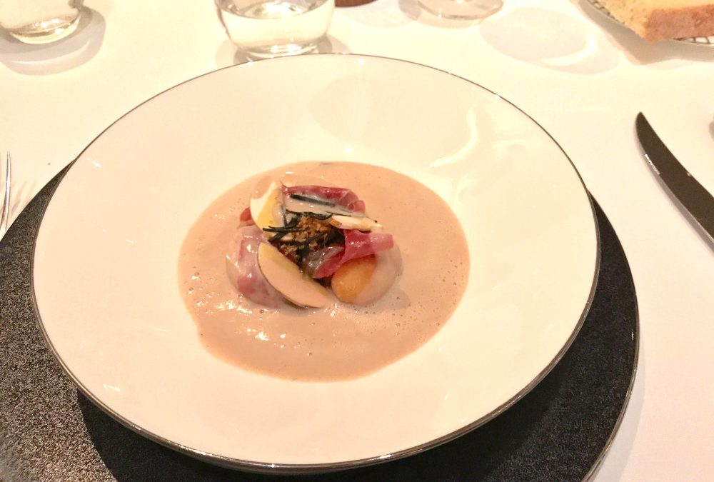 A night of fine dining at The Goring Dining Room
