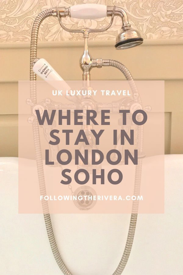1 night at a trendy London SoHo House boutique 3