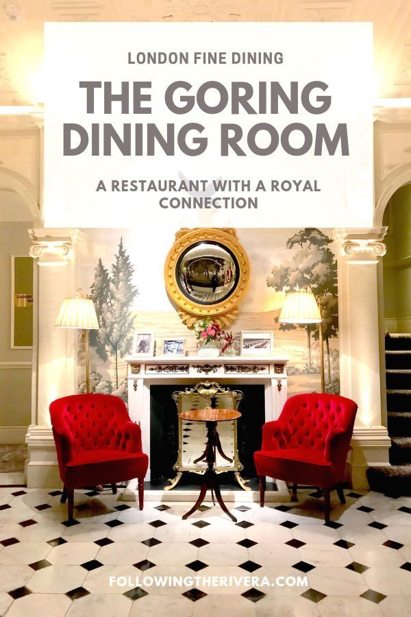 A night of fine dining at The Goring Dining Room 2