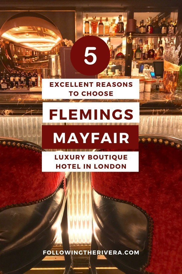 Flemings Mayfair Hotel — London's most colorful boutique 6