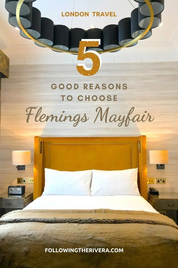 Flemings Mayfair Hotel — London's most colorful boutique 3