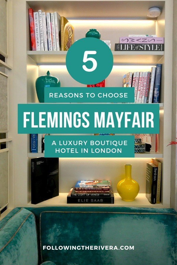 Flemings Mayfair Hotel — London's most colorful boutique 5