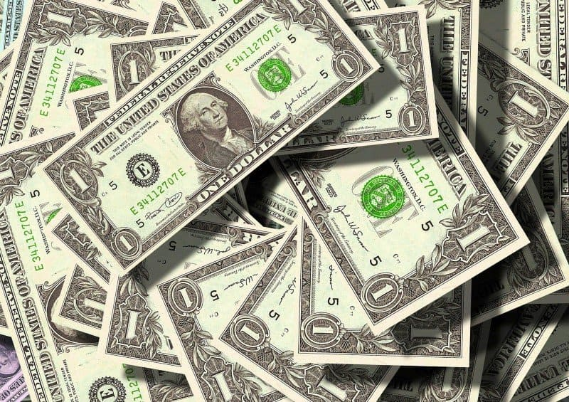 dollar bills - how to make money as a digital nomad