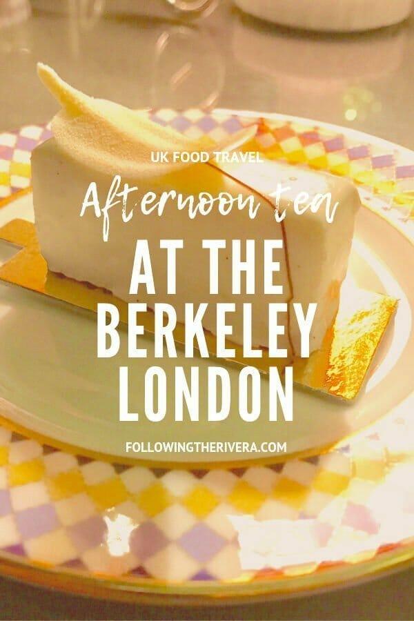 The Berkeley afternoon tea  — Prêt-à-Portea 3