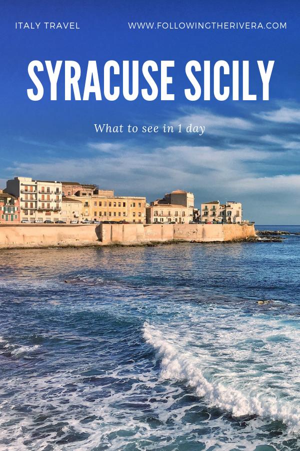 Syracuse Sicily | 7 unmissable sights 2