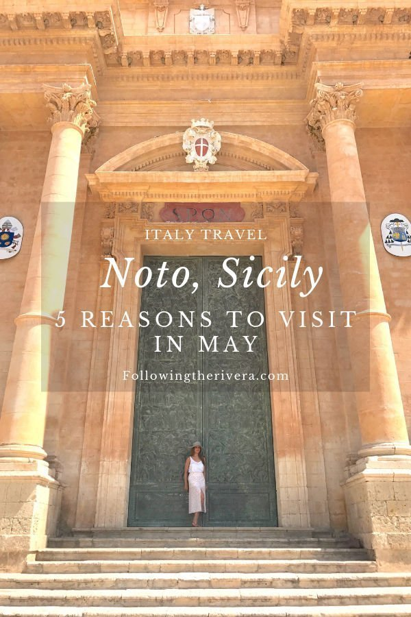 Things to do in Noto: 5 reasons to visit in May 2