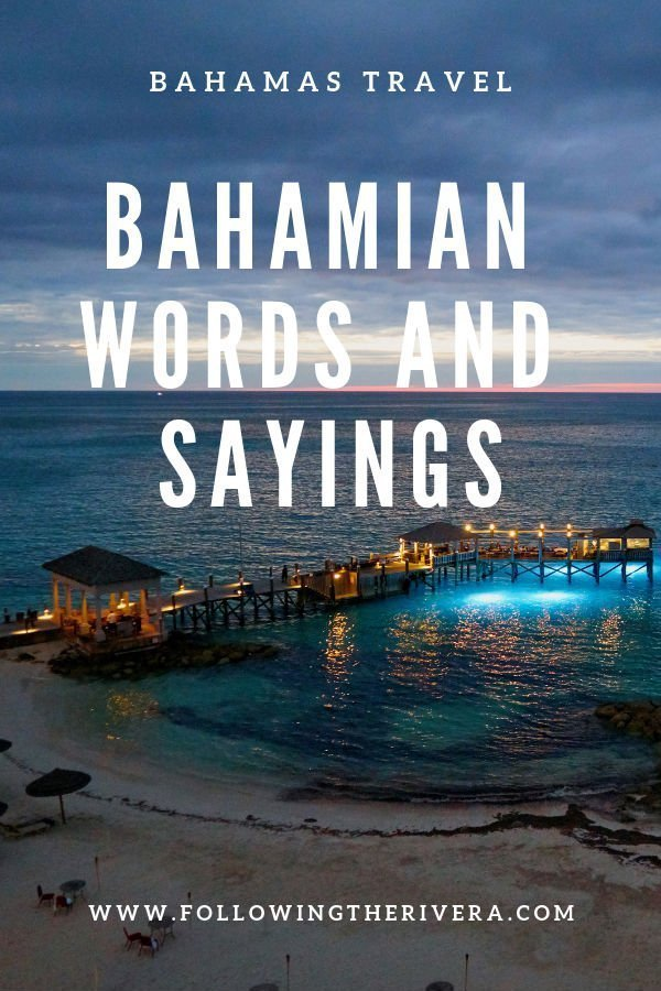 15 fun Bahamas words and phrases 3