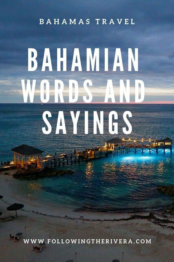15 fun Bahamas words and phrases 3