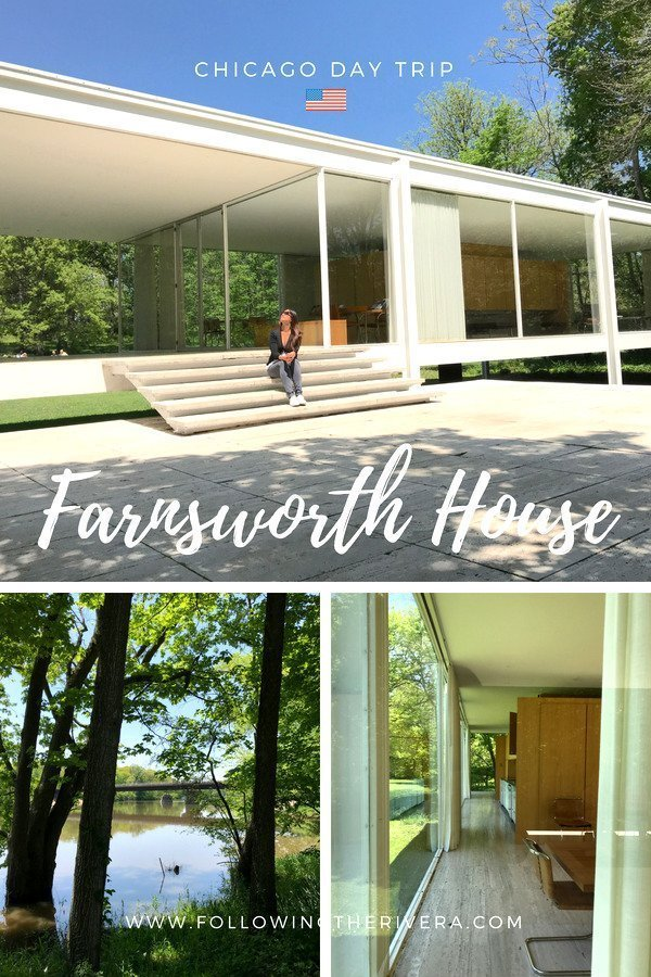 A Chicago day trip - visiting Farnsworth House 2