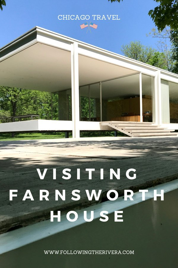 Farnsworth House visit - the ideal Chicago day trip on