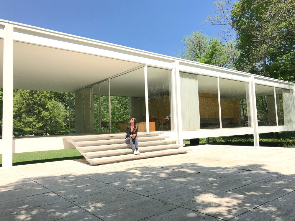 A Chicago day trip - visiting Farnsworth House 1