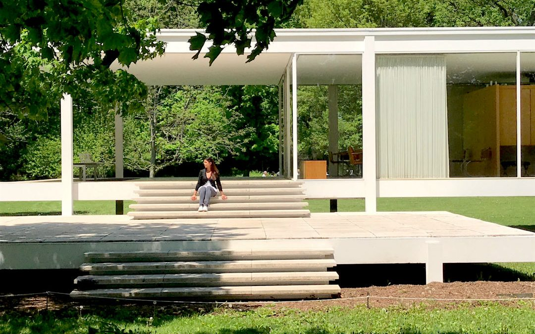 Chicago day trip – visiting Farnsworth House