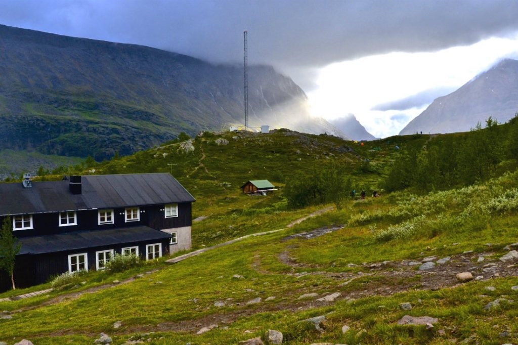 Top 5 European summer holiday destinations for couples - Kebnekaise mountain lodge