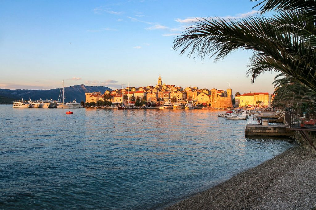 Top 5 European summer holiday destinations for couples - Korcula Old Town