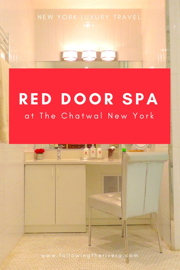 Red Door Spa at the Chatwal New York 2