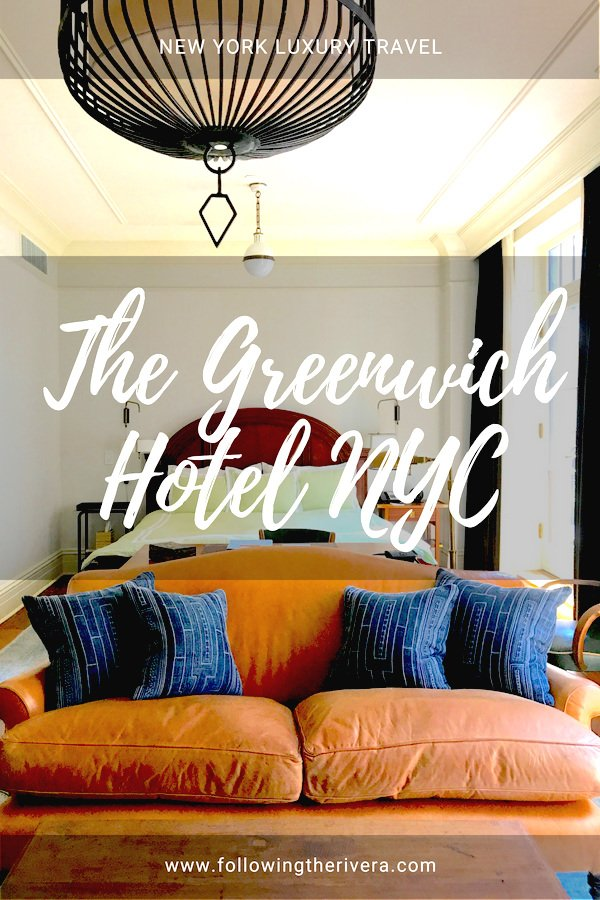 NYC luxury boutique hotels — the Greenwich Hotel NYC 5