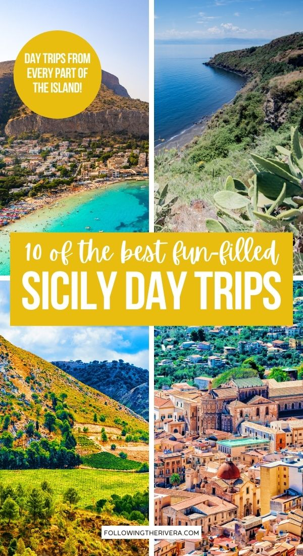 4 pictures of Sicily - Sicily day trips