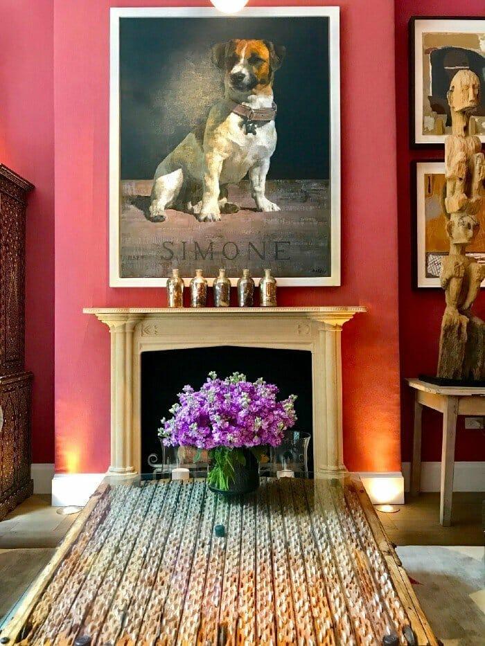 Salon Crosby Street Hotel -NYC dog friendly hotels