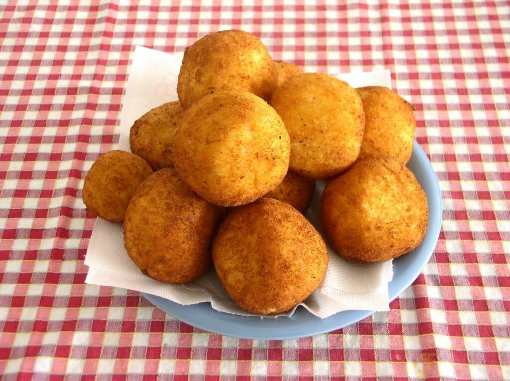best Sicilian food - arancini
