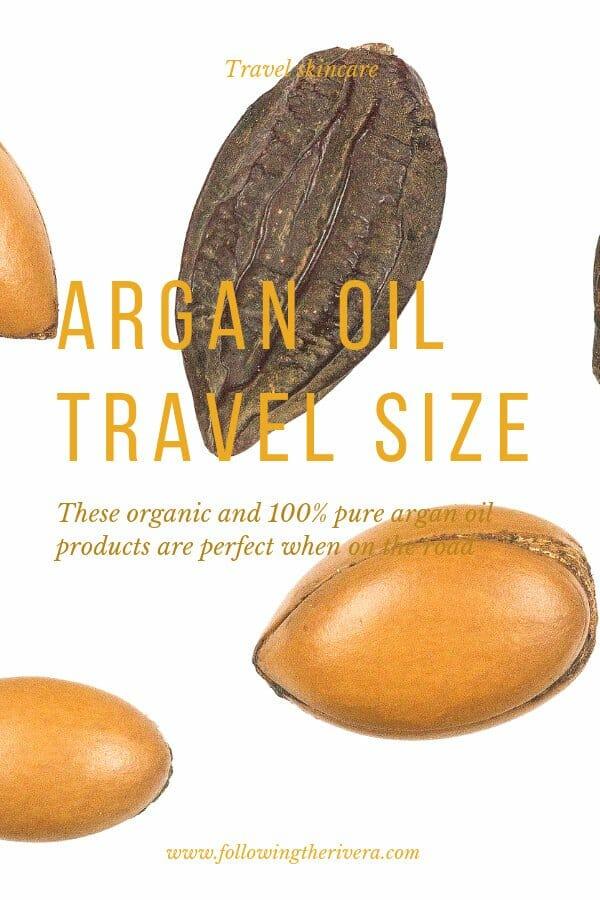 Sweet-smelling argan oils in travel size 2