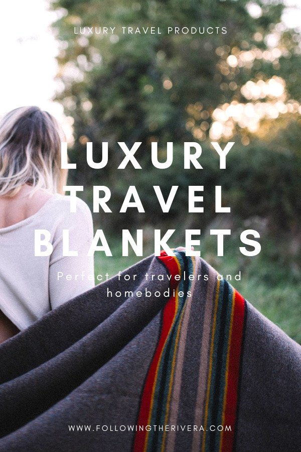 Luxury travel blankets for away & home 2
