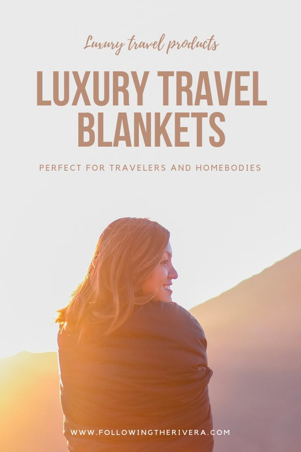 Luxury travel blankets for away & home 1