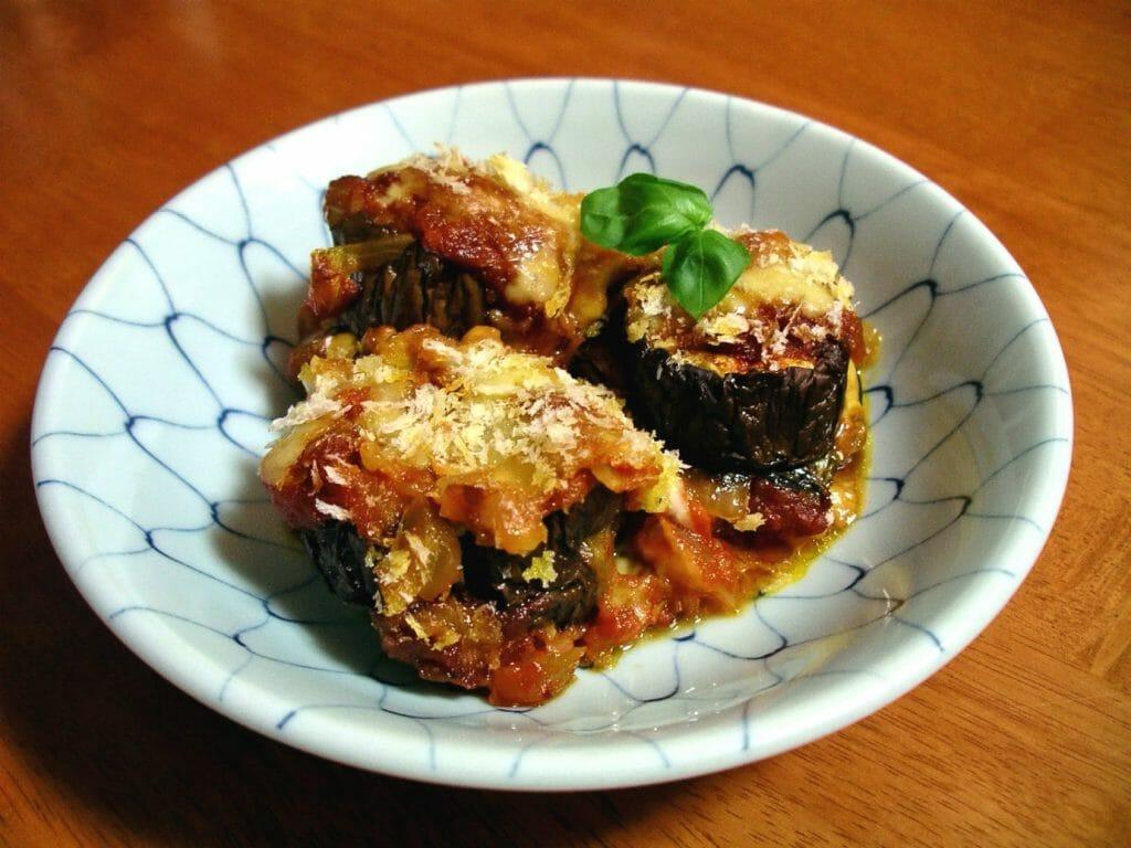 best Sicilian food - Melanzane Parmigiana