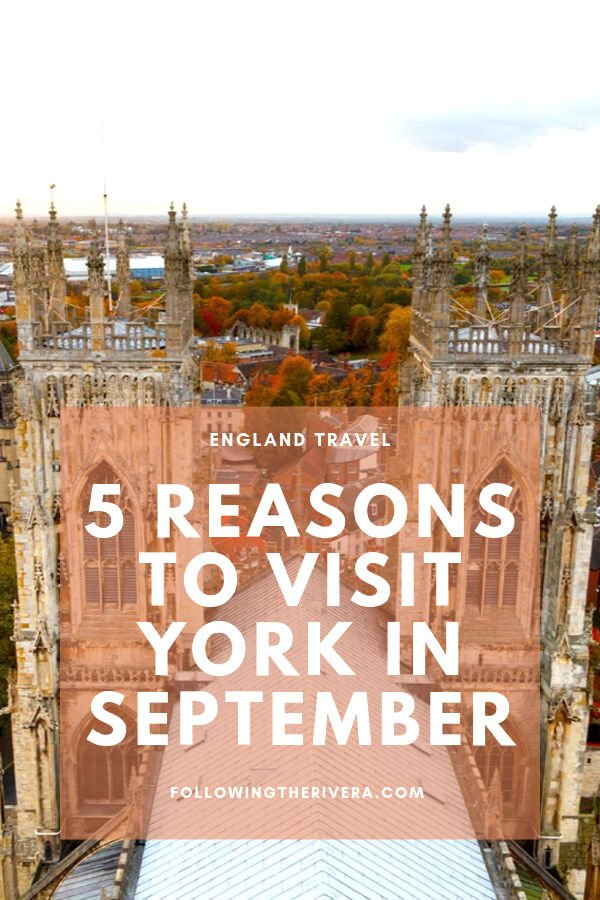 5 reasons to travel to York in September 9