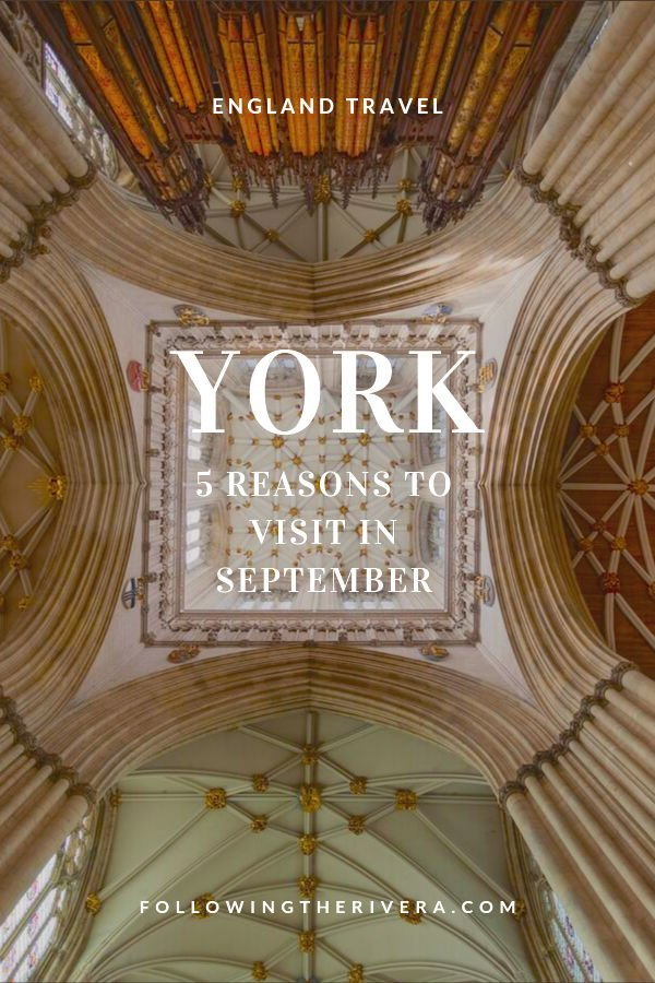 5 reasons to travel to York in September 10