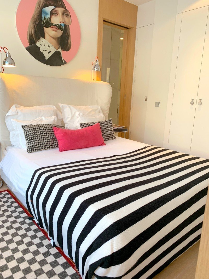 Bedroom at H15 Boutique Hotel
